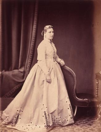 Florica Maria Sas, după căsătoria cu Sir Samuel Baker
