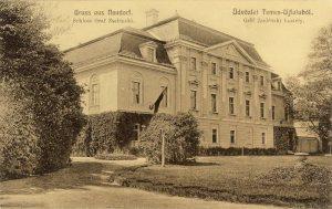 Castelul Lovász-Zselénszky , sat Neudorf, jud. Arad-locul unde arhiducesa și-a petrecut ultimele clipe din viață