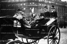 Regele Ferdinand si Alexandre Millerand, presedintele Frantei