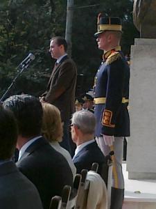 Discursul lui Filip Iorga la inaugurarea Piațetei Regelui (24 octombrie 2012)