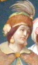 Doamna Evdokia, sotia lui Stefan cel Mare si mama domnitei Elena
