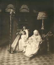 Regina Elisabeta a Romaniei, Printesa Sofia si Printesa Marie-Eleonore (1914)
