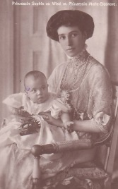 Principesa Sofia de Wied si fiica sa, Marie-Eleonore