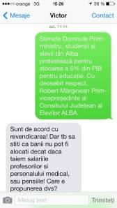 SMS Victor Ponta